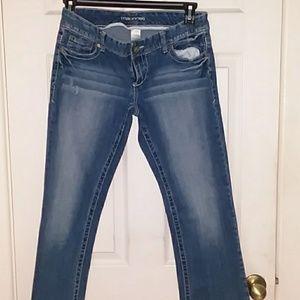 7/8 short Bootcut jeans